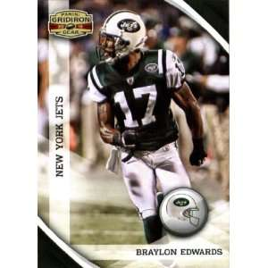 2010 Panini Gridiron Gear #101 Braylon Edwards   New York