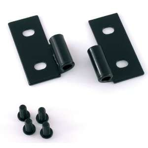 Rugged Ridge OMX11202.03 Jeep Wrangler Black Lower Body Door Hinge Kit