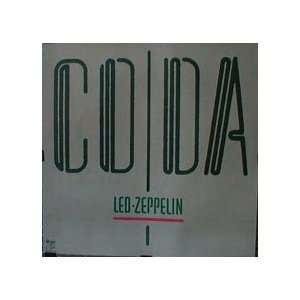 Led Zeppelin Coda poster