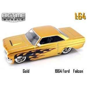 Jada Dub City Big Time Muscle Gold 1964 Ford Falcon with
