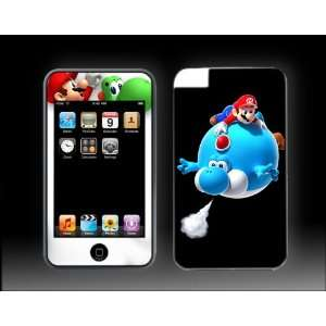 iPod Touch 3G Super Mario Bros #1 Brothers Vinyl Skin kit fits 2nd gen