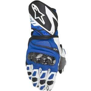 Alpinestars SP 1 Mens Leather Street Racing Motorcycle Gloves   Blue