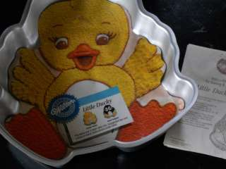 1988 Wilton Little Ducky Cake Bake Pan 1808 2029