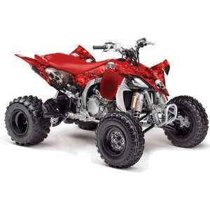 Yamaha YFZ 450 ATV Quad, Graphic Kit   Bone Collector Red Automotive