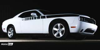 2008 up dodge challenger side stripe graphic kit