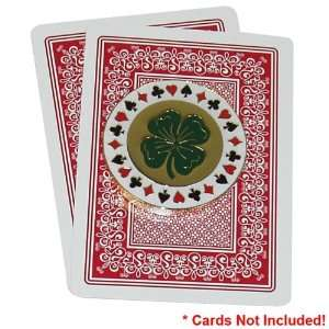Lucky Four Leaf Clover Card Cover