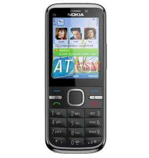 NEW Nokia C5 00 5MP Black GSM UNLOCKED Phone