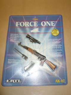 ERTL   FORCE ONE   DIECAST AK47 Carded Ideal for ACTION MAN