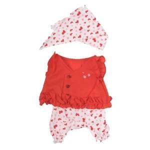 Cute Summer Outfit Teddy Bear Clothes Fit 14   18
