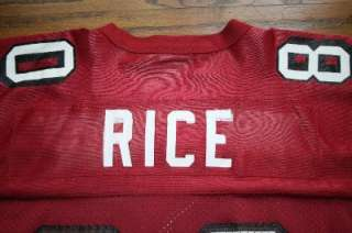 JERRY RICE SAN FRANCISCO 49ers NFL Football STARTER JERSEY Men 46/M