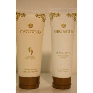 24K Oro Gold Hand Cream + Foot Cream