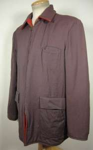 VINTAGE 40S WINDWARD GABARDINE WOOL REVERSIBLE JACKET SIZE 42