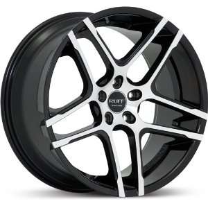 RUFF RACING WHE R954 BLACK/MACHINE FACE 5X120 +20   20X10
