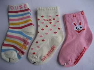 3X New Baby Girl/Boy infant toddler Accessory Sock 1 3T