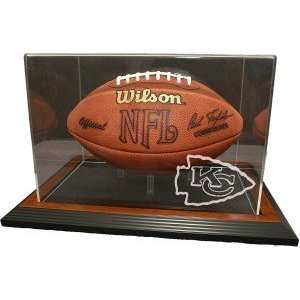 Kansas City Chiefs Zenith Football Display   Brown Sports