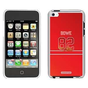 Dwayne Bowe Color Jersey on iPod Touch 4 Gumdrop Air Shell