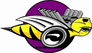DODGE RUMBLEBEE Vinyl Decal Sticker 18 wide FULL COLOR