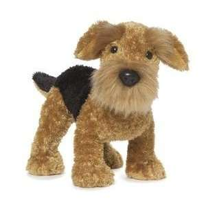 Webkinz Virtual Pet Plush   AIREDALE TERRIER Toys & Games