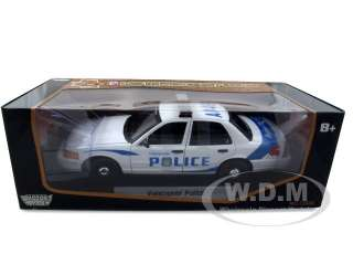 Ford Crown Victoria Vancouver Police die cast model car by Motormax