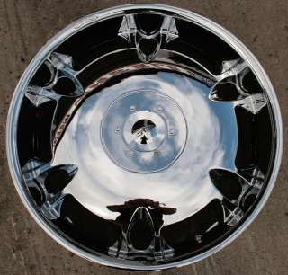 DVINCI TUSCANI 24 CHROME RIMS WHEELS INFINITI FX45