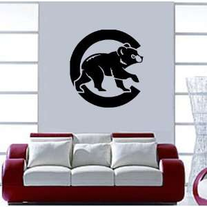 Chicago Cubs MLB Vinyl Decal Sticker / 16 x 17