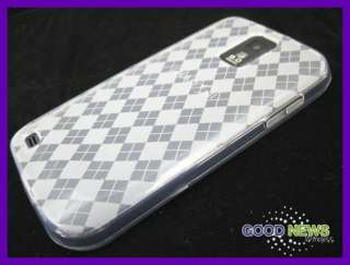 Samsung Galaxy S2   Clear Slim TPU Rubber Skin Case Phone Cover