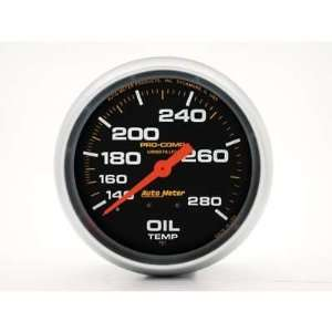 Auto Meter Pro Comp Analog Gauges Gauge, Pro Comp, Oil Temperature