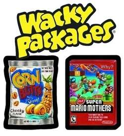 WACKY PACKAGES SERIES 9 STICKERS HOBBY SEALED BOX