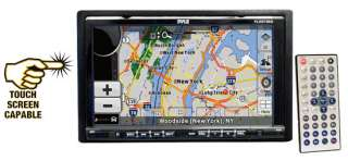 Double DIN In Dash Motorized Touch Screen TFT/LCD Monitor W/DVD/CD