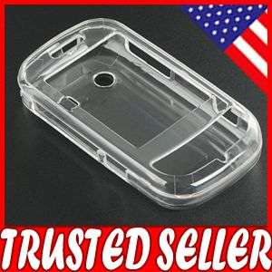 CLEAR HARD PROTECTOR CASE COVER SAMSUNG HOLIC 2 B3410