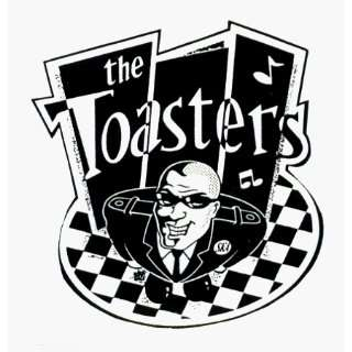 The Toasters   Logo with Guy, Ska Checkers & Music Notes