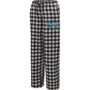 Jose Sharks Womens Black Paramount Flannel Pants