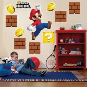 Party Destination 159151 Super Mario Bros. Giant Wall