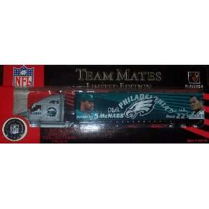 Philadelphia Eagles Fleer Diecast Tractor Trailer