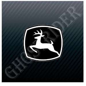 Tractors John Deere Construction Equipment Black Car Trucks Sticker