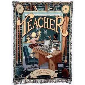 Special Teacher Tapestry Throw