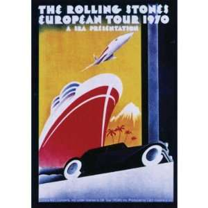 Rolling Stones   Europe 70 Decal