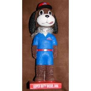 Ford Super Duty Diesel Dog Bobble Head