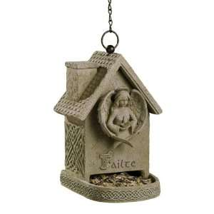 Road Dublin Court Failte Celtic Knot Hanging Angel Bird Feeder