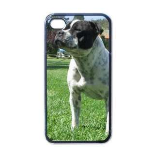 Pit Bull Terrier Puppy Dog Black Case for iphone 4