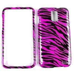 Samsung Nexus I515 Hot Pink Black Zebra 2D Design Snap on
