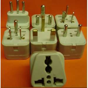 WIDE USED PLUG ADAPTERSUK USA ITALY SWISS AUSTRALIA SOUTH AFRICA