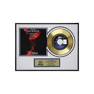 Michael Jackson Framed Gold Record  Scream Toys & Games