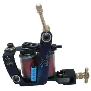 NEW 10 wrap coils Handmade Cast Iron Tattoo Machine Gun