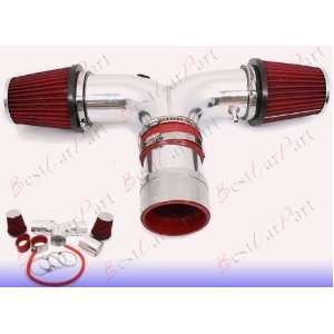 06 07 08 Dodge Ram Hemi 5.7L V8 Dual Air Intake + Red Filter SRDDG9R