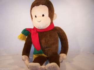 Giggles Curious George monkey 24 plush toy Macys