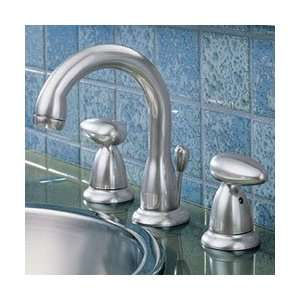 Delta Faucet 8 Widespread Matte Chrome Bathroom Sink Faucet