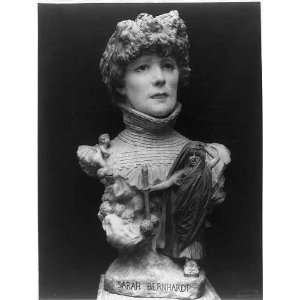 Bust of Sarah Bernhardt by Jean Leon Gerome