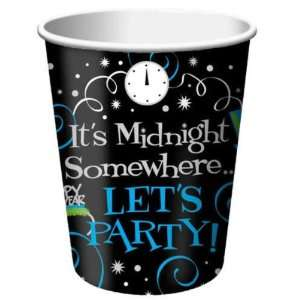 New Years Eve 9oz Paper Cups Case Pack 5