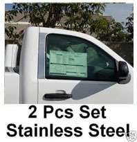 1998 2001 Dodge Ram Quad Cab 2Pc Chrome Pillar Post
